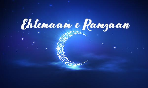 Ehtemaam e Ramzaan