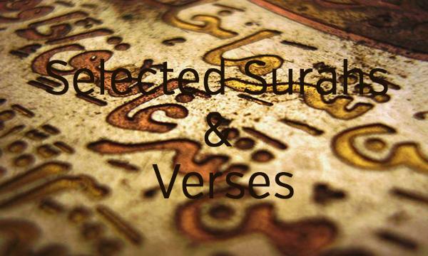 Selected Surahs & Verses